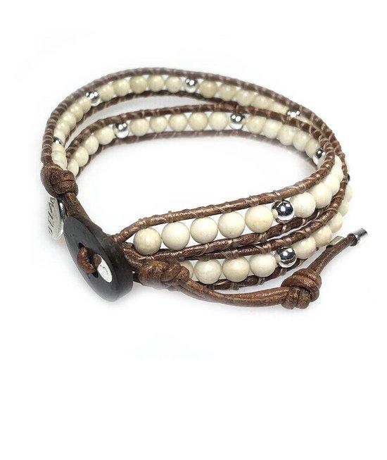 Bela Donaco Armband exclusive met Sterling Zilvere kralen
