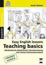 Easy English lessons: Teaching basics