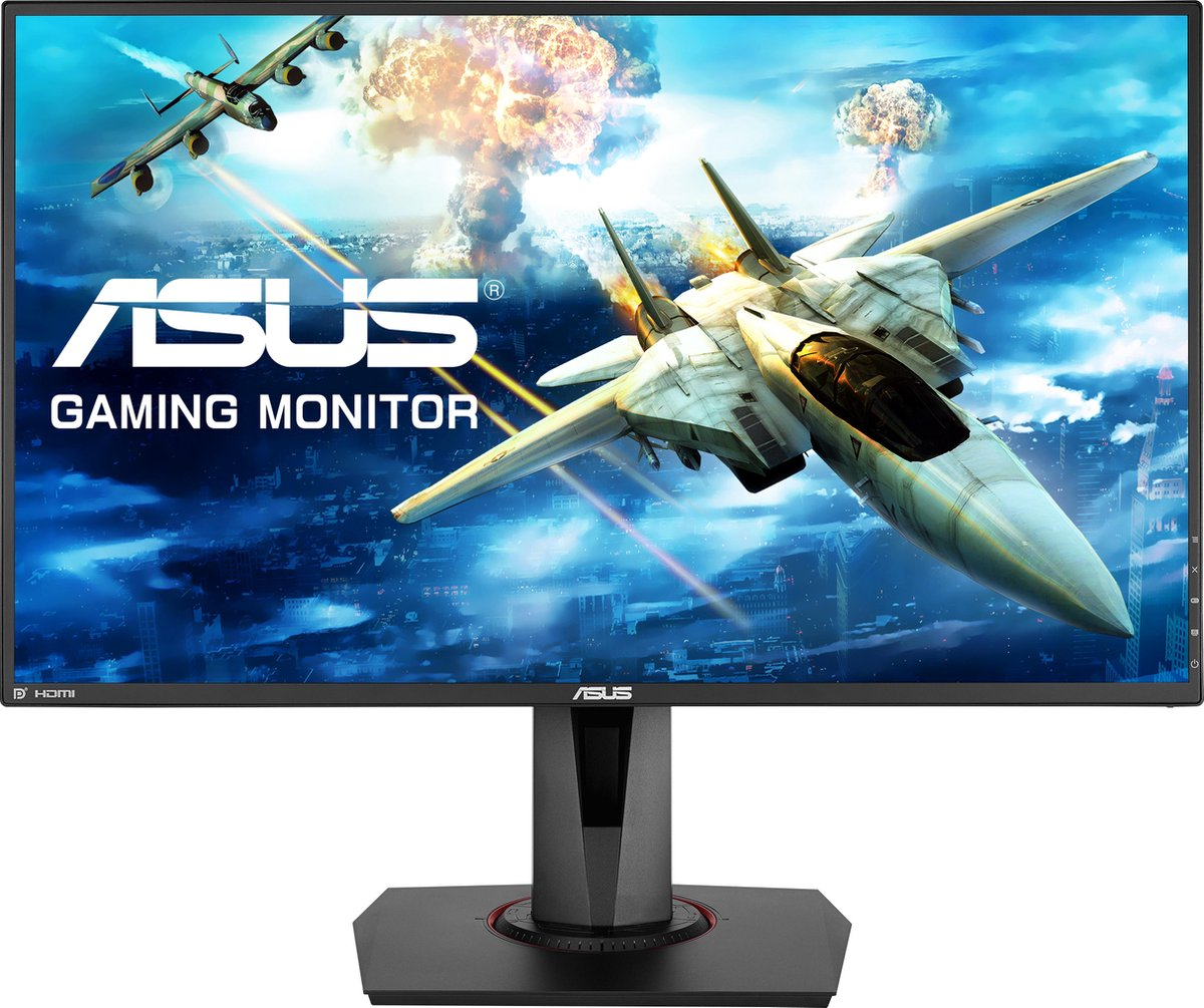 ASUS VG278QR- Full HD Gaming Monitor - 27 inch (0.5 ms, 165Hz) - ASUS