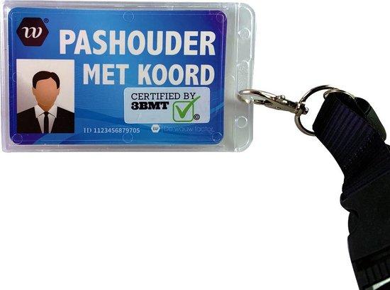 3 BMT Keycord met badge pashouder aan koord