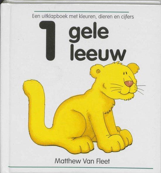Cover van het boek '1 gele leeuw' van M. van Fleet