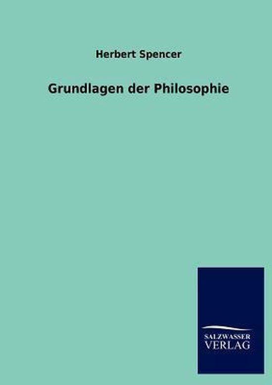 Grundlagen der Philosophie