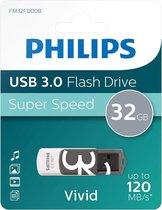 Philips FM32FD00B - USB 3.0 32GB - Vivid - Grijs