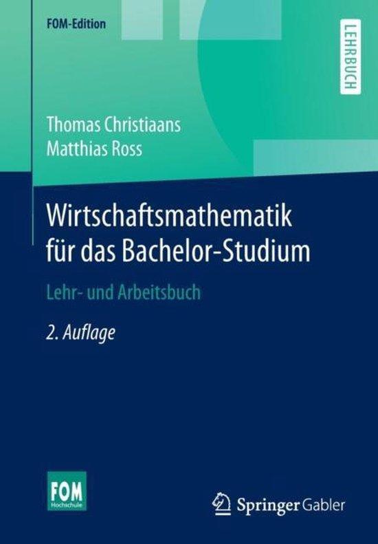 Wirtschaftsmathematik F r Das Bachelor-Studium