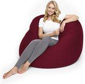 Lumaland - Zitzak Flexi Comfort - Beanbag - Verschillende maten - 155 x 100 cm - LARGE - Rood