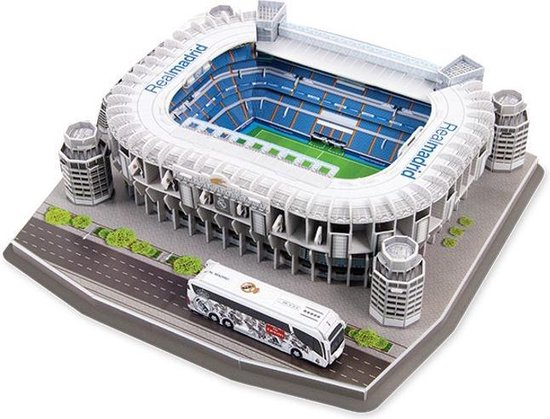 Nanostad - Santiago de Bernabeu - 3D puzzel - Real Madrid