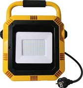 V-tac VT-51 LED bouwlamp met stopcontact - 50W - 4000Lm - 4000K