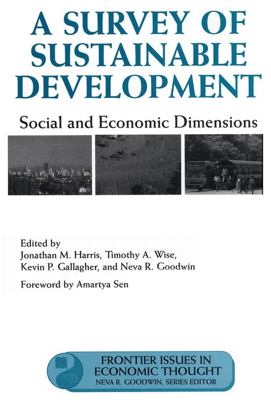 Boek cover A Survey of Sustainable Development van Jonathan Harris (Onbekend)