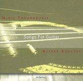 Mikis Theodorakis: Songs for Guitar