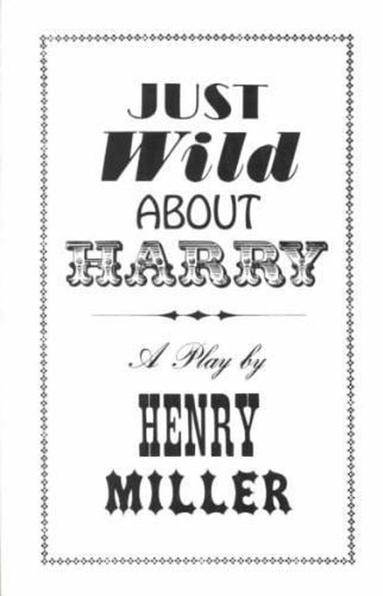 Just Wild About Harry