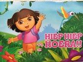 Set van 5 Dora verjaardag ansichtkaarten