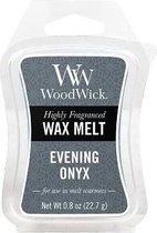 Woodwick Wax Melt Evening Onyx 3 stuks