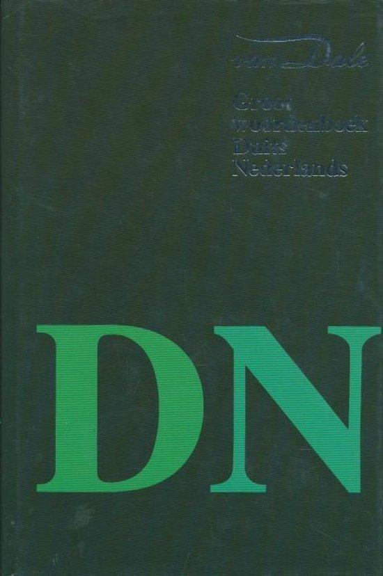 Van Dale groot woordenboek Duits-Nederlands - Van Dale   Fthsonline.com
