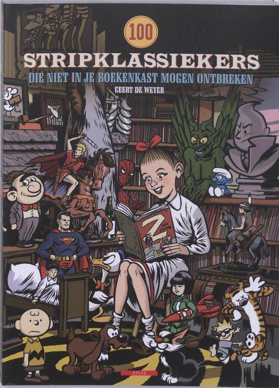 Cover van het boek '100 Stripklassiekers' van G. de Weyer