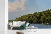 Fotobehang vinyl - Het Nationaal park Alas Purwo achter een geweldige baai in Oceanië breedte 540 cm x hoogte 360 cm - Foto print op behang (in 7 formaten beschikbaar)