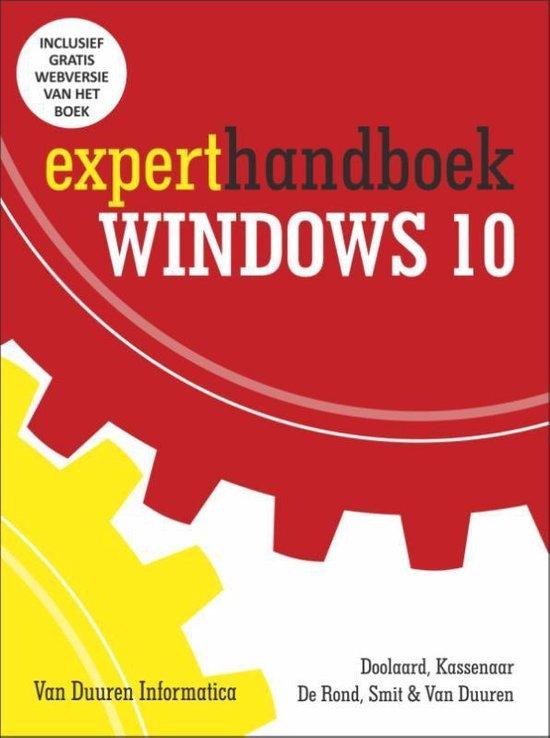 Experthandboek Windows 10 - Peter Doolaard |