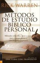 Metodos de Estudio Biblico Personal
