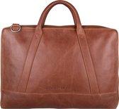 Cowboysbag Holden Schoudertas - 15.6 Inch laptoptas - Cognac