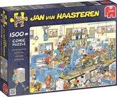 Afbeelding van Jan van Haasteren De Drukkerij - Puzzel 1500 Stukjes