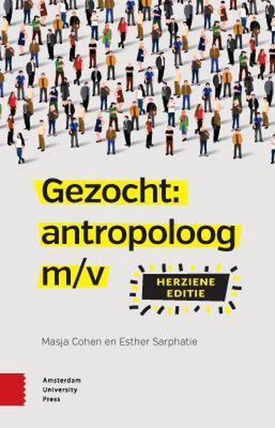 Gezocht: Antropoloog m/v - M. Cohen |