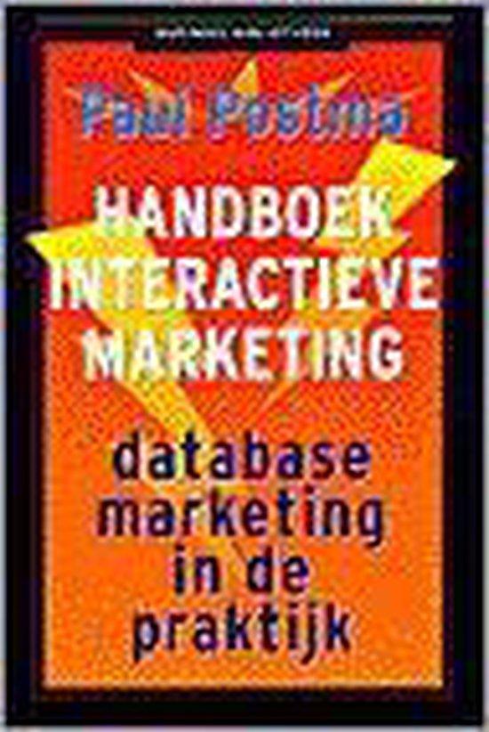 HANDBOEK INTERACTIEVE MARKETING - Jan Postma  