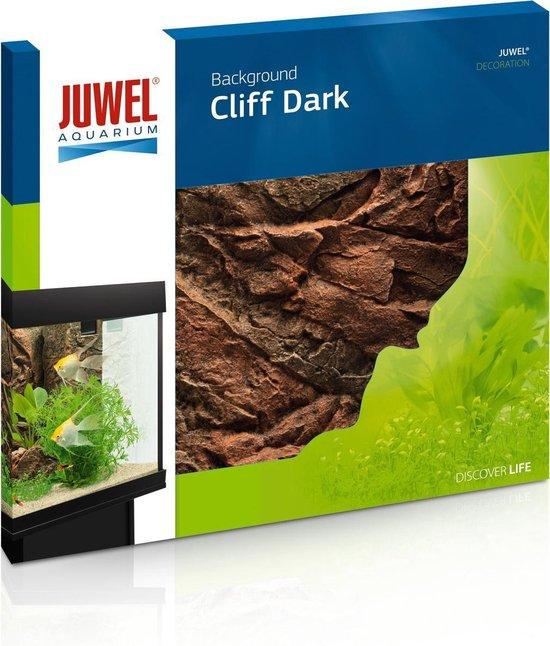 Juwel Aquarium Achterwand Cliff Dark - Bruin - 60 x 55 cm