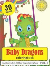 Baby Dragons Coloring Book