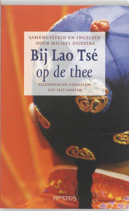 Cover van het boek 'Lao Tsé dronk al thee'