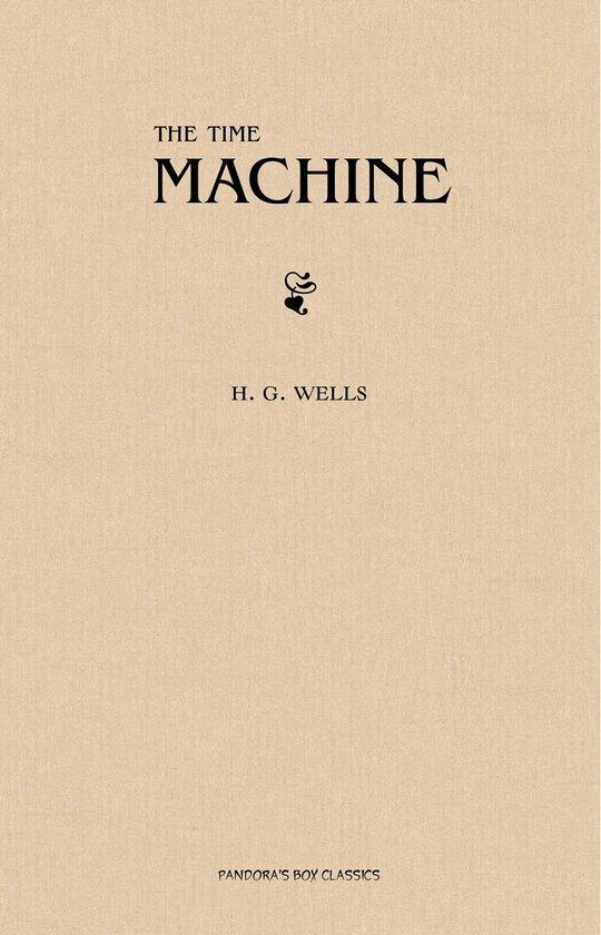 Boek cover The Time Machine van H G Wells (Onbekend)