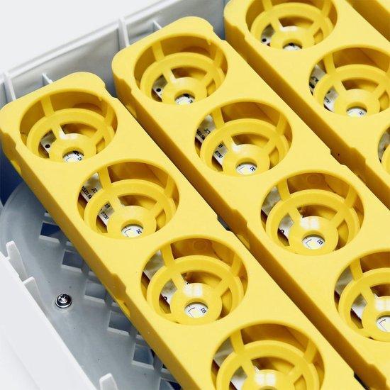 Broedmachine voor 56 eieren met  geïntegreerde schouwlamp. - Dieko staphorst