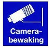 Pick-Up Pictogram Camerabewaking - 100 x 100 mm