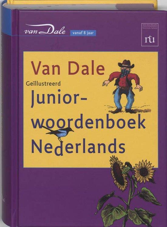 Boek cover Van Dale Juniorwoordenboek Nederlands van M. Verburg (Hardcover)