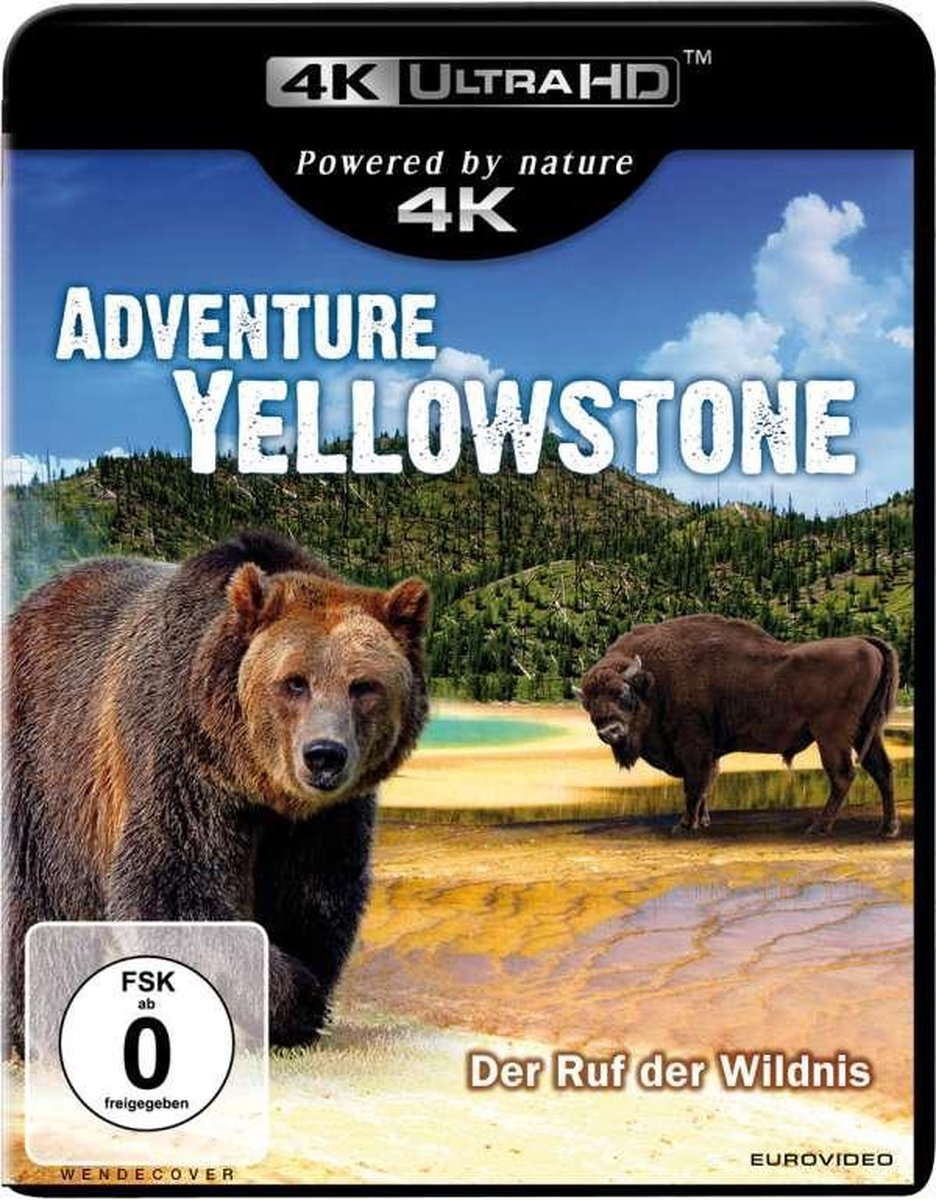 Adventure Yellowstone (Ultra HD Blu-ray)-
