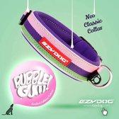 EzyDog classic neopreen halsband, bubble gum, maat XS