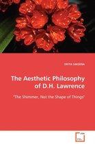 Boek cover The Aesthetic Philosophy of D.H. Lawrence van Divya Saksena (Paperback)