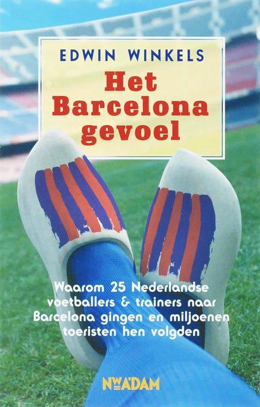 Cover van het boek 'Het Barcelona gevoel'
