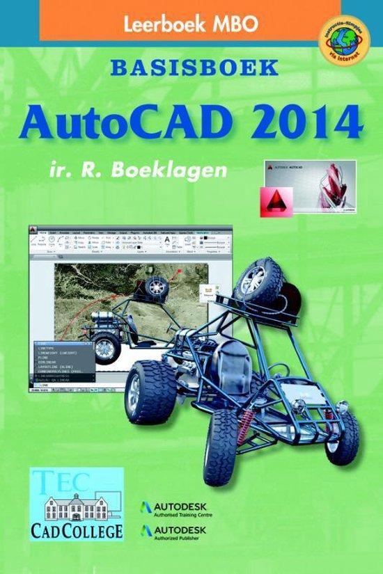 AutoCAD 2014 mbo Basisboek - R. Boeklagen |