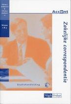 Boek cover Zakelijke Correspondentie / Studiehandleiding van J. Gielen