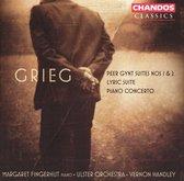 Peer Gynt Suites 1&2/Lyric Suite/Piano Concerto