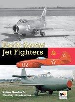 Boek cover Early Soviet Jet Fighters van Gordon Yefim