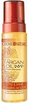 Creme of Nature - Argan Oil Style & Shine Foaming Mousse 207 ml