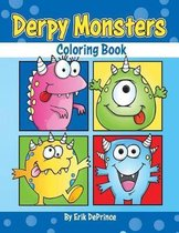 Derpy Monsters Coloring Book