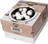 Kweekset 7,5 liter witte champignons - 2 sets