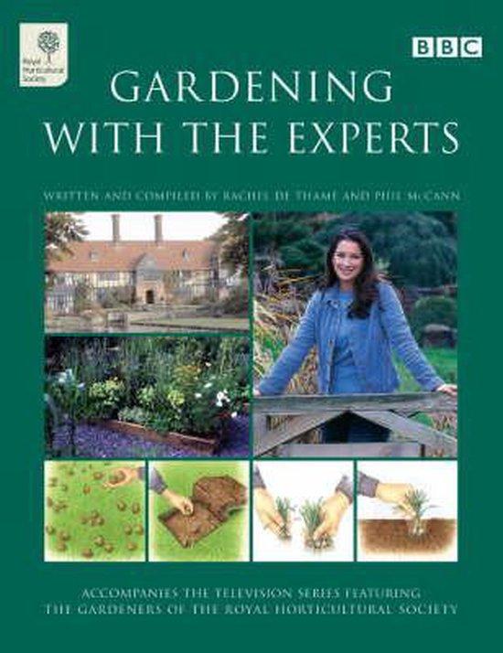 Boek cover Gardening with the Experts van Rachel De Thame (Hardcover)