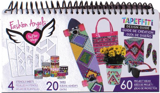 Bol Com Fashion Angels Tapeffiti Design Handboek