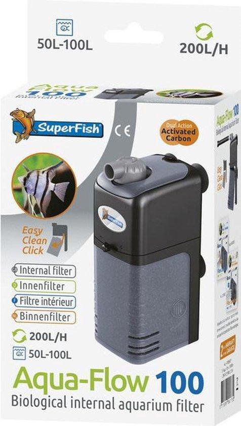 AquaFlow Dual Action 100 - Aquariumfilter - 200 L/H