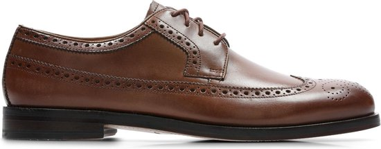 Clarks - Herenschoenen - Coling Limit - G - british tan leather - maat 10
