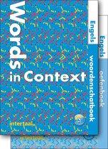 Words in Context with exercises woordenschat + oefenboek + o