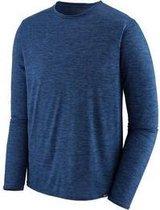 Patagonia - heren - L/S Cap Cool Daily shirt - XL - Viking blue