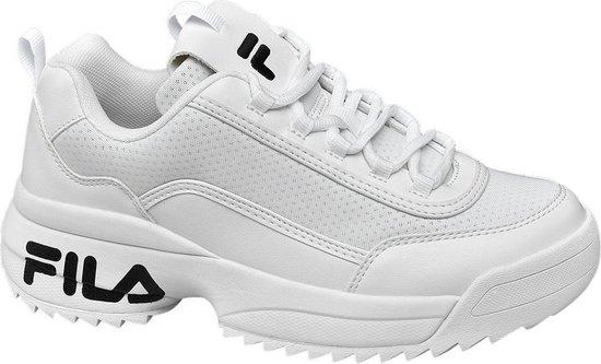 | Fila Dames Witte chunky sneaker Maat 37